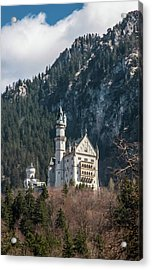 Neuschwanstein Castle On The Hill 2 Acrylic Print