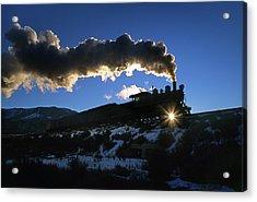 Nevada Sunrise Acrylic Print