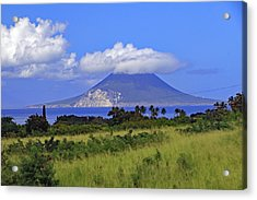 Acrylic Print featuring the photograph Nevis by Tony Murtagh