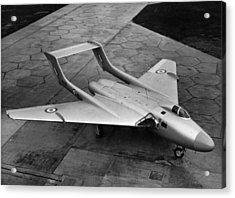 New De Havilland Acrylic Print by Hulton Archive
