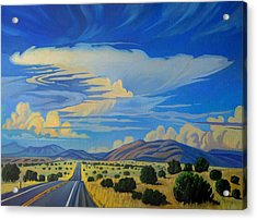 New Mexico Cloud Patterns Acrylic Print