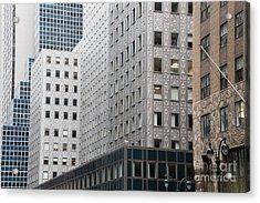 New York Architecture Acrylic Print
