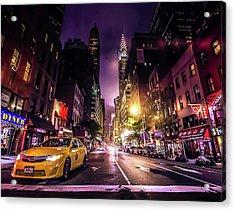 New York City Street Acrylic Print