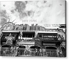 Acrylic Print featuring the photograph New York, New York by Whitney Leigh Carlson