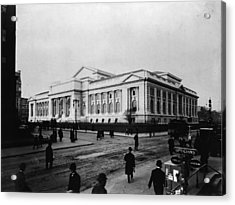 New York Public Library Main Branch Acrylic Print by Fpg