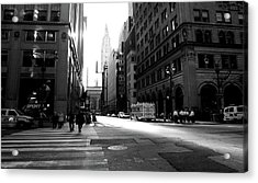 New York, Street Acrylic Print