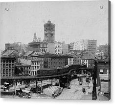 New York Train Acrylic Print by Hulton Archive