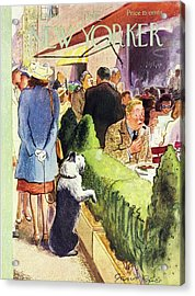 New Yorker August 17th 1946 Acrylic Print