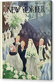 New Yorker March 20th 1943 Acrylic Print