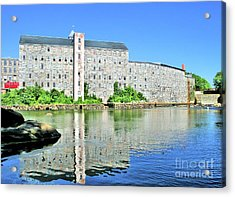 Acrylic Print featuring the photograph Newmarket New Hampshire by Debbie Stahre