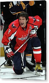 Nhl All-star Dodgenhl Superskills Acrylic Print by Bruce Bennett