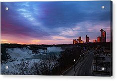 Niagara Falls At Sunrise Acrylic Print