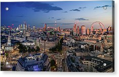 Acrylic Print featuring the photograph Night And Day by Stewart Marsden