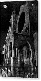 Night Church Acrylic Print