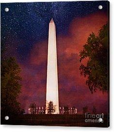 Night Monument Acrylic Print