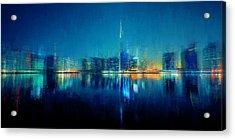 Night Of The City Acrylic Print