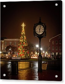 Night On The Square Acrylic Print