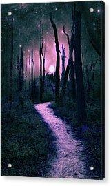Night Walk Acrylic Print