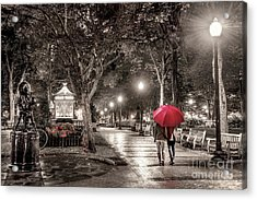 Night Walk Acrylic Print