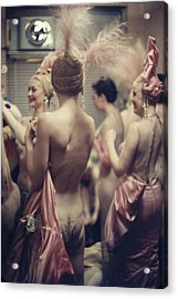 Nightclub Showgirls Acrylic Print