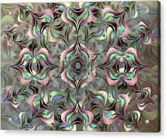 Acrylic Print featuring the digital art Nimb Difficult by Vitaly Mishurovsky
