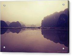 Ninh Binh Acrylic Print