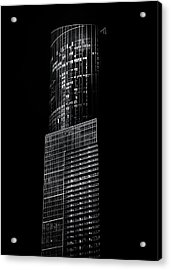 Acrylic Print featuring the photograph No 388 Yonge St Toronto Canada 1 by Brian Carson
