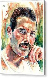 No One But You - Freddie Mercury Portrait Acrylic Print