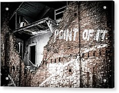No Return Acrylic Print
