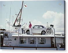 No Transport Problems Acrylic Print by Slim Aarons