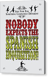 No17 My Silly Quote Poster Acrylic Print