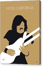 No230 My The Eagles Minimal Music Poster Acrylic Print