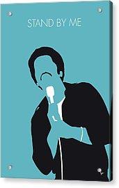 No265 My Ben E King Minimal Music Poster Acrylic Print