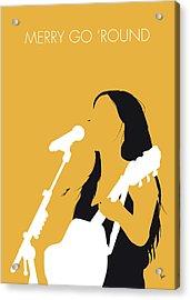 No294 My Kacey Musgraves Minimal Music Poster Acrylic Print