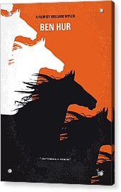 No989 My Ben Hur Minimal Movie Poster Acrylic Print