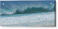 North Shore Surf's Up Acrylic Print