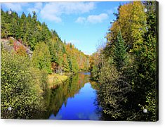 Northwoods Reflection Acrylic Print