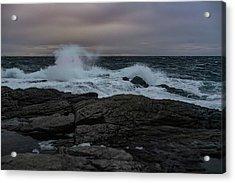 Norwegian Wild Waters Acrylic Print