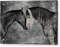 Not Always Black And White Acrylic Print
