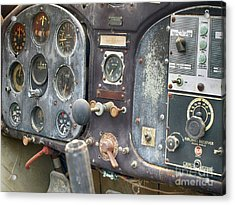 Nothing Passenger About This Plane  Acrylic Print by Steven Digman