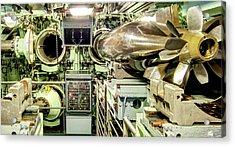 Nuclear Submarine Torpedo Room Acrylic Print