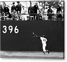 N.y. Mets Vs. Baltimore Orioles. 1969 Acrylic Print by New York Daily News Archive