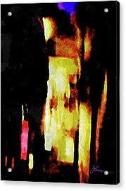 Acrylic Print featuring the painting Ny Verve 2 by Joan Reese