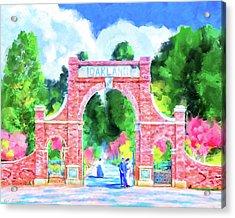 Oakland Cemetery - Atlanta Landmark Acrylic Print