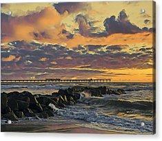Ob Sunset No. 3 Acrylic Print