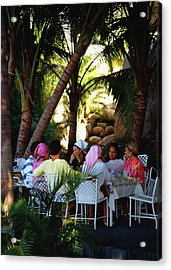 Oberons Lunch Acrylic Print