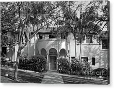 Occidental College Erdman Hall Acrylic Print by University Icons