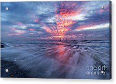 Ocean City Lights Acrylic Print