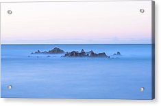 Ocean Peaks Acrylic Print