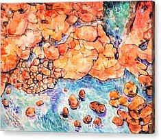 Ocean Rocks 2018 Acrylic Print